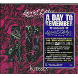 Cd Dvd A Day To Remember Homesick [deluxe]   Sob Encomenda